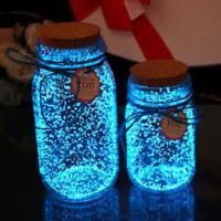 1Bag Colorful Fluorescent Glow Powder Super luminous Particles Sand Glow