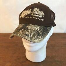 Bass Pro Shops Myrtle Beach SC Camouflage Strapback Baseball Cap Hat (CH14)