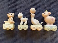 Precious Moments Birthday Train 4 piece, For Baby, and ages 1,2 and 3