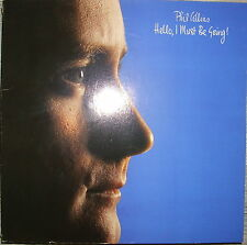 LP Phil Collins-Hello I Must Be Going!, NM, ottimo stato, OIS, WEA 99263