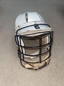 Vintage Bacharach Rasin Lacrosse Helmet 42 LH White Early 1970s Old School