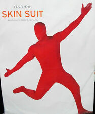 Red Skin Body Jump Suit Halloween Costume Adult X-Large