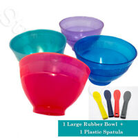 "Large Flexible Alginate Mixing Bowl & Spatula - 1 per sale - Dia. 5"" Ht. 3 1/2"""