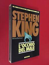 Stephen KING Bachman L' OCCHIO DEL MALE Bompiani G.Tascabili (1994) Libro Horror
