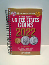 2022 Red Book of United States Coins Yeoman 75th Ed. Softcover Spiral Guide Book