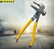 GRADE FORGED WHEEL WEIGHT HAMMER / PLIERS COMBO FOR TIRE BALANCER / CHANGER