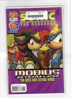 Sonic The Hedgehog #166 Near Mint - 9.2 Archie Comic Knuckles Julie-Su Shadow