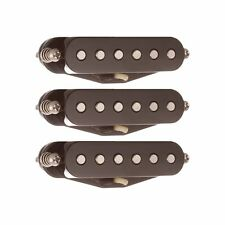 Suhr V60 60s Alnico V Single Coil Strat Replacement Pickup Set BRDG MID NCK BLK