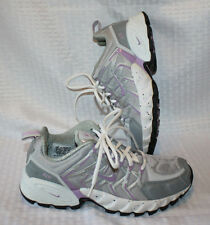 Women's NIKE AIR Purple Grey 9 Trail Running Shoes Lace-Up BRS 1000