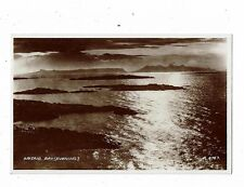 POST CARD REAL PHOTO ARISAIG BAY