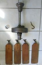 """ANTIQUE 1930'S EMERSON ELECTRIC CEILING FAN 3 SPEED 52"""" DIA. - ALL ORIGINAL !!"""