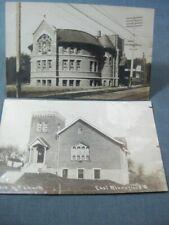 Mansfield Oh Church Rppc 1909 Postcards