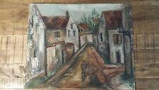 """Emil Ganso (1895-1941) / Oil On Board 22"""" x 18"""""""