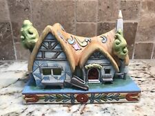 *Rare Hard To Find Disney Traditions J Shore Enchanted Cottage Lights Up 4031495