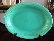 "Fiesta 12 3/4"" Oval Platter Green Platter Pre-Owned"