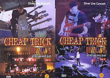 CHEAP TRICK / Silver Live Concert Vol.1 + Vol.2 2DVD SET - DVD new
