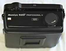 MAMIYA RZ 67 Pro II D 6x7 120 Roll Film Back Latest Style Mint- Condition