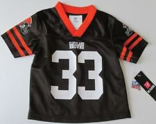 NWT-NFL Team Apparel Kids Toddler 2T Jersey-Cleveland Browns 33 Trent Richardson