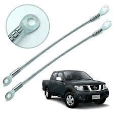 Rear Tailgate Tail Gate Wire Cable Silver Fits Nissan Navara Pickup 2006 - 2014