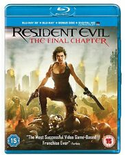 The Resident Evil - Final Chapter 3D : NEW 3-D Blu-Ray