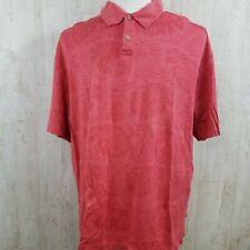 Tommy Bahama XXL Polo Shirt Button Down Silk Short Sleeve Shirt