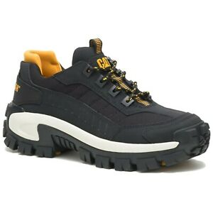 CAT Caterpillar Men's P91275 Invader Steel Toe Overbuilt Style Black Work Shoes