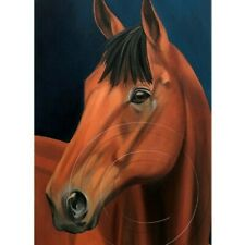 American Pharoah Horse Portrait Signed Numbered Print Collectible Art SFASTUDIO