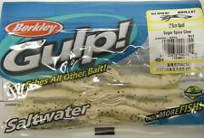 "Berkley Gulp! Saltwater Fishing Lure 3"" Squid Sugar Spice Glow GSSQ3-SSGL Glows"