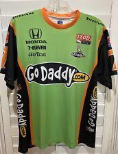 Danica Patrick IndyCar #7 Go Daddy Shirt Size XL Izod Honda 7Eleven AirTran