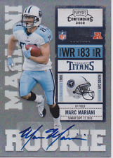 Marc Mariani 2010 Panini Playoff Contenders RC autograph auto card 167