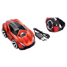 2.4G Voice Command Car Smart Watch Remote Control RC Racing Toy Car Orange New