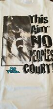 No Fear,T-Shirt THIS AIN´T PEOPLES COURT White  Sammlerstück TOP LARGE