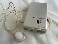 Vintage Voice Amplifier Ear Sound Enhancer Japan