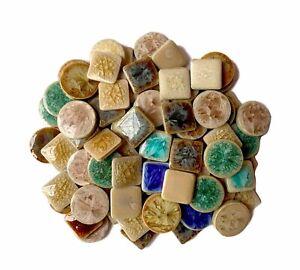 Colorful Ceramic Mosaic Tiles For Crafts Tessera Wall Arts DIY Handing 100g