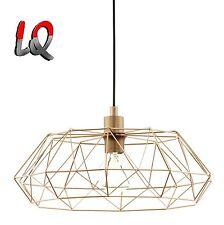 Design Lampe Vintage Retro kupfer Durchmesser 455 mm Eglo Carlton 2 49488
