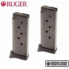 TWO Ruger LCP™ .380 Mags 6 Round w/ Extended Floorplates 90333 NEW *FAST SHIP*!!