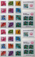 GUINEA 1976 OLYMPICS, Perf + Imperf MNH** Sheets + Sets, Olympiade, Canada