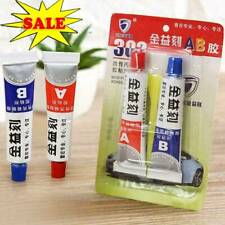 2pcs Metal Glass Wood Repair Tool Super AB Glue Liquid Adhesive Epoxy Best