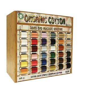 Scanfil Organic Thread 100 Metre Spool - 2 Spool Offer - 100% Organic Cotton