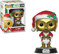 FUNKO POP! STAR WARS: Holiday - C-3PO as Santa [New Toy] Vinyl Figure