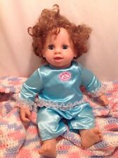 "IRWIN BABY SO REAL REALISTIC TODDLER DOLL, ""Butterfly Kisses"" (Blinks Eyes)  C32"