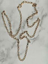9CT cadena de cordón de oro
