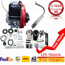49CC 4-Stroke GAS PETROL MOTORIZED BIKE BICYCLE ENGINE MOTOR KIT Scooter