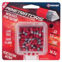 CROSMAN Powershot Red Flight Penetrator (Red).22 Caliber 16.7 Grain 100 LF22167