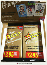 2008 Select AFL Champions Trading Cards Sealed Loose Packs Unit of 4--packs