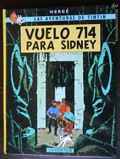 LAS AVENTURAS DE TINTIN - VUELO 714 PARA SIDNEY - 13ª EDICION - 1994 (J2)