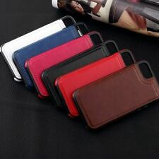 Horse leather protective shell multi-function  phone holster for iPhone model