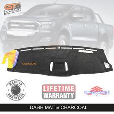 DASH MAT FORD RANGER PX2 XLT MK2 Driver Impair 6/2015-7/2018 DM1402 CHARCOAL