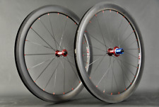 "Set di pedali Tune MIG 70+mag 170 Red 50mm Carbon Clincher CX RAY circa 1435g 28"" NUOVO"