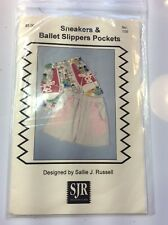 Sneakers & Ballet Slippers Pockets   #109     Designed by Sallie J. Russell